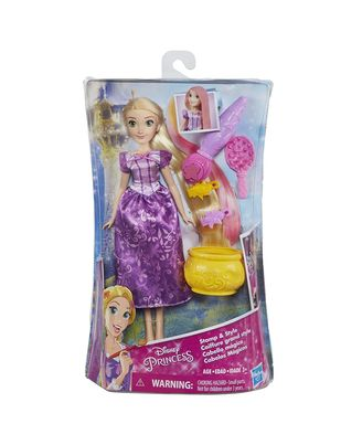 Disney Princess Stamp And Style Rapunzel Doll, Age 3-5+