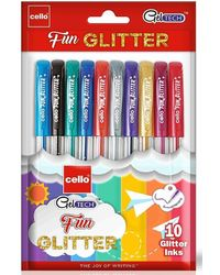 Cello Geltech Fun Glitter 10Po