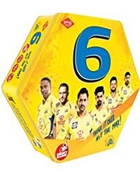 Kaadoo Board Game Csk 6 Cricket, Age 9+