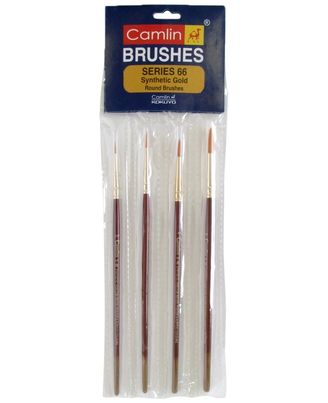 Sr-66 - 4 Brushes Pack_ Synthetic Hair