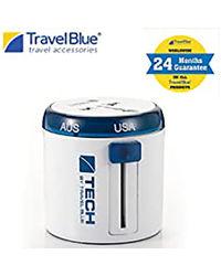 Travel Blue Twist & Slide Travel Adaptor
