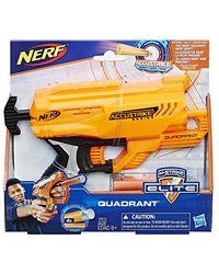 NERF Guns Accustrike Quadrant Blaster, Age 8+