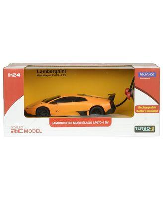 TurboS 1: 24 Remote Control Lamborghini LP670 Licensed Toys Car