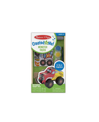 Melissa And Doug Diy Wooden Monster Truck - Created By Me, Age 4+