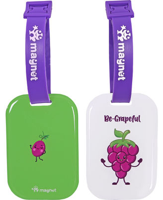 Grapeful and Grateful, multicoloured