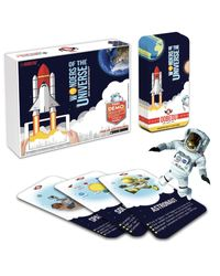 """OOBEDU"""" WONDERS OF THE UNIVERSE"""" AUGMENTED REALITY EDUCATIONAL FLASH CARD SET"""