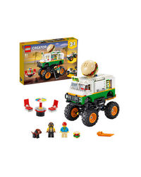 Lego Creator Monster Burger Truck Building Blocks, Age 8+