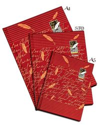 Hard Cover Notebook Size A5 - Red ( No. Of Pages 192P)