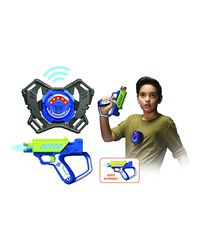Silverlit First Ops Equiped W/Blaster, M. A. D Target, Age 6 To 8 Years