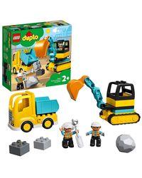 LEGO DUPLO: Truck & Tracked Excavator, Age 2+