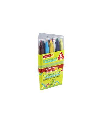 Camel Triangular Plastic Crayon 17 Shades
