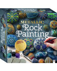 Metallic Rock Painting, na