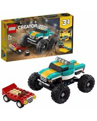 Lego Creator Monster Truck Building Blocks, Age 7+