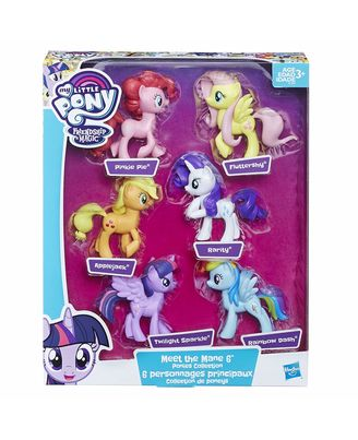 My Little Pony Meet The Mane Ponies Collection Doll Playset, Ages 3 and Up