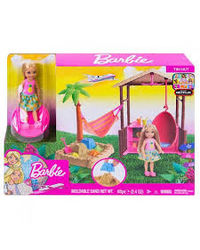 Barbie Tiki Hut Playset, Age 3+