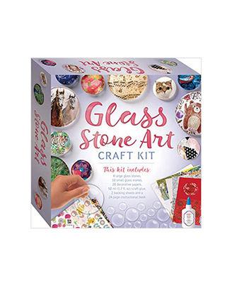 Glass Stone Art Craft Kit (Tuck Box), multi