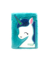 Hamster London Blue Unicorn Diary