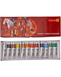 Artist Acrylic Colours Tps Aac Box (9ml X 12 Shades)