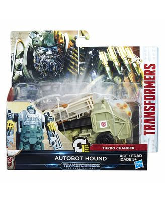 Transformers The Last Knight 1-Step Turbo Changer Cyber Fire Barricade