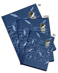 Hard Cover Notebook Size A5 - Blue ( No. Of Pages 192P)