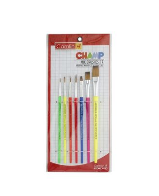 Champ Brushes Set Of 7 Mix ( Sr-64&65), mix