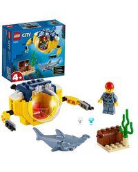 LEGO CITY: Ocean Mini-Submarine, Age 4+