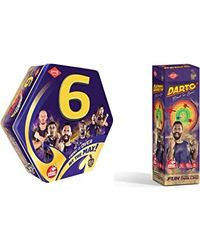 Kaadoo Board Game Kkr 6 Cricket, Age 9+