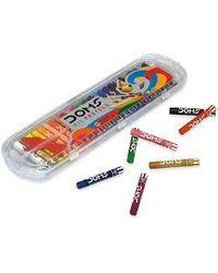 Doms Oil Pastel 25 Shades Plastic Pack