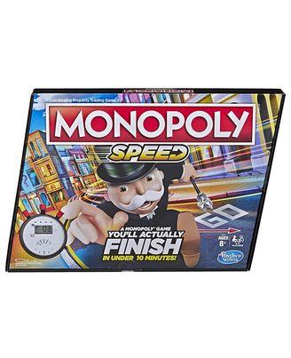 Hasbro Games Monopoly Speed Age, 8+