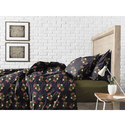 Bed in a bag BB12, double, green/black