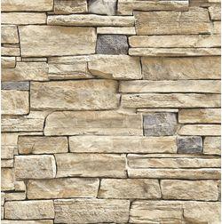 Elementto Brick Design Modern 3D Wallpaper for Walls - td32002, brown