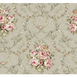 Elementto Wallpapers Floral Design Home Wallpaper For Walls, grey