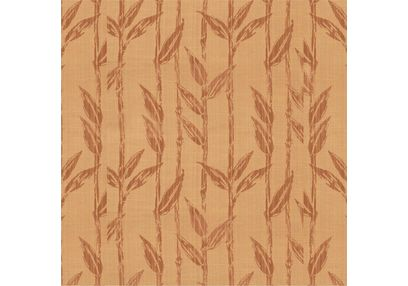 Constellation Floral Curtain Fabric - CSZI104, brown, sample