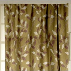 Romania Floral Readymade Curtain - 46, yellow, window