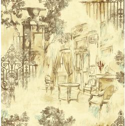 Elementto Wallpapers Garden Decor Design Home Wallpaper For Walls Ew70804-1, beige