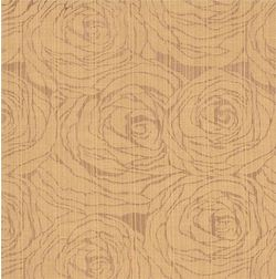 Constellation Floral Curtain Fabric - CSMI104, brown, fabric