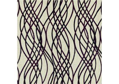 Raindrop Geometric Curtain Fabric - 41, purple, fabric