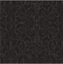 Elementto Wall papers Damask Design Home Wallpaper For Walls, black