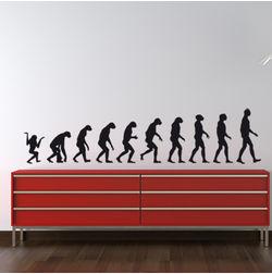 KakshyaaChitra Evolution Wall Stickers