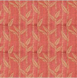 Constellation Floral Curtain Fabric - ZI106, orange, fabric