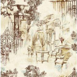 Elementto Wallpapers Garden Decor Design Home Wallpaper For Walls Ew70804-2, ivory
