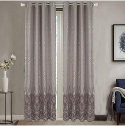 Dreamscape Poly Cotton Geometric, grey, door