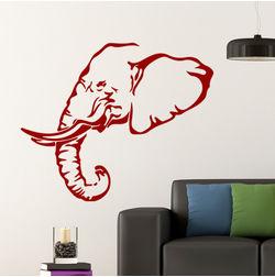 Kakshyaachitra Elephant Wall Stickers Kids Wall Stickers, 31 24 inches
