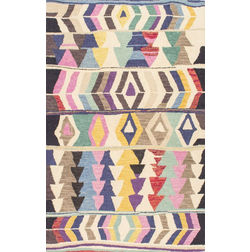 Floor Carpet and Rugs Hand Tufted, The Rug Concept Multi Carpets Online Tbilisi 6024-S, multi, 3ft x 5ft