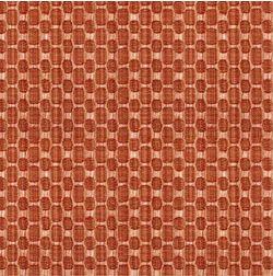 Constellation Geometric Curtain Fabric - SI106, orange, fabric