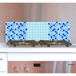 Wall Stickers Home Decor Line Mosaic Blue - 31114