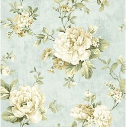 Elementto Wallpapers Floral Design Home Wallpaper For Walls, blue