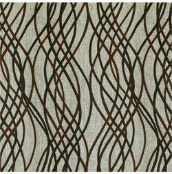 Raindrop Geometric Curtain Fabric - 1, grey, fabric
