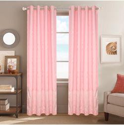Dreamscape Poly Cotton Geometric, pink, door