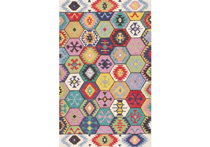 Floor Carpet and Rugs Hand Tufted, The Rug Concept Multi Carpets Online Tbilisi 6021-L, multi, 3ft x 5ft